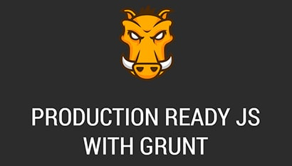 production ready js with grunt