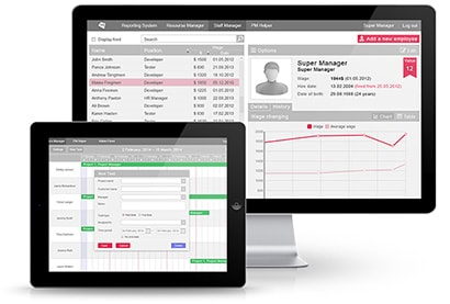 staff and employee management system