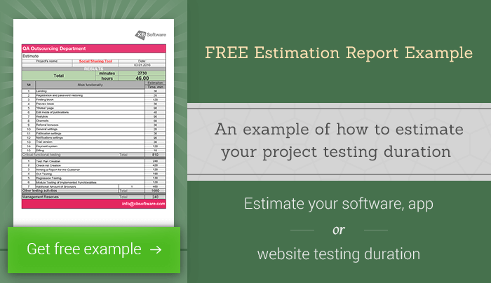 FREE-Estimation-Report-Example