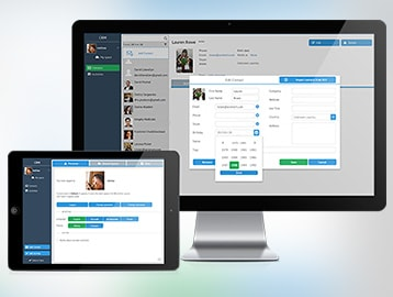 Web Dev Application: Webix CRM