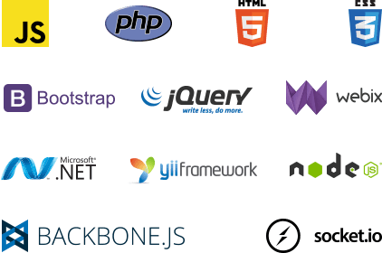 web development technologies for app dev