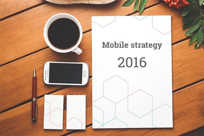 mobile strategy 2016