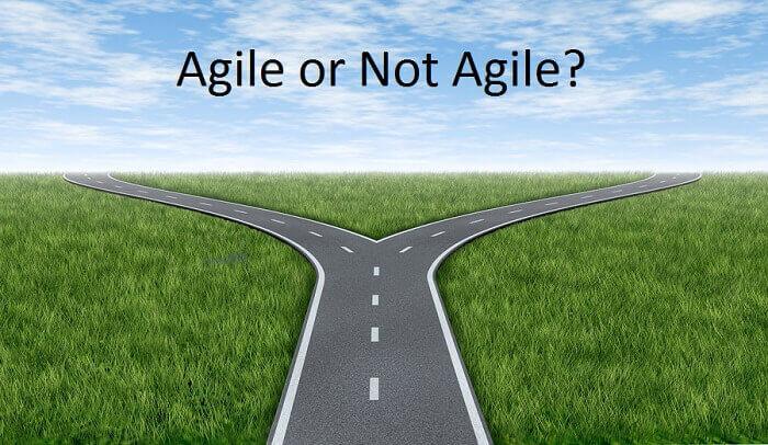 agile non agile development methodologies