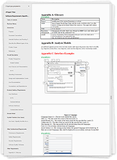 free software requirements specification srs template