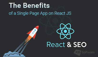 react single page application