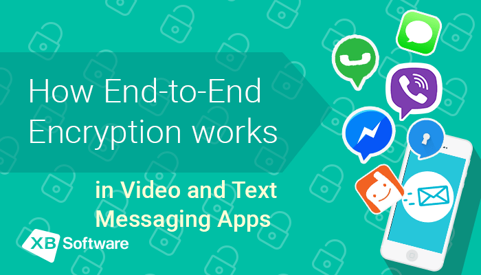 End-to-end encryption webrtc with XBsoftware
