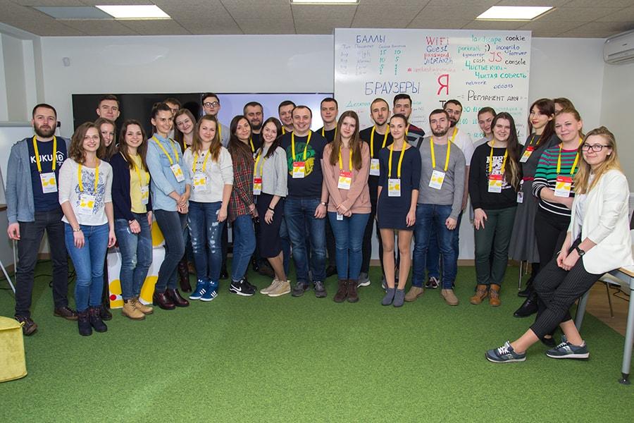 Yandex contest participants