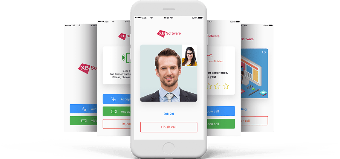 Call and сontact сenter app