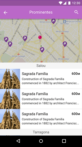geolocation mobile app