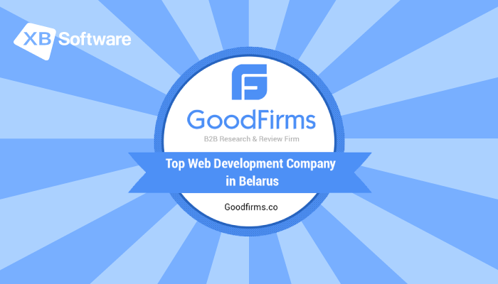 XB Software Among Top Software Development Companies in