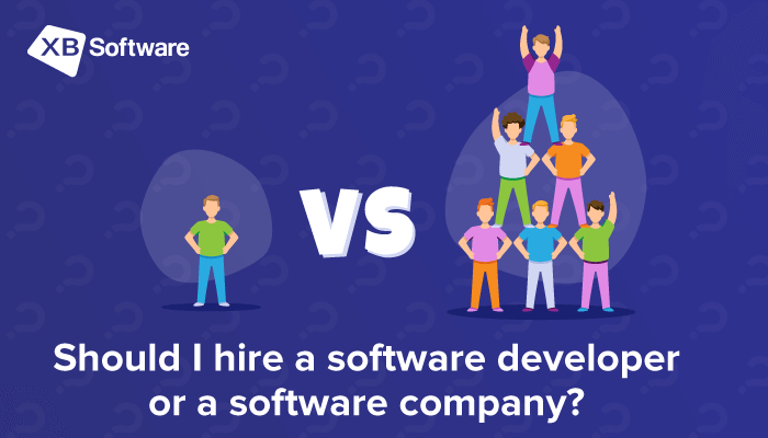 Hire a Software Developer or a Software Company