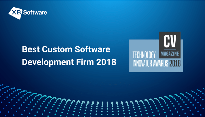 XB Software Has Been Awarded the Title of the Best Custom Software