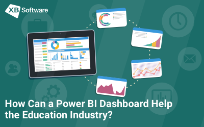 bi dashboard in education industry