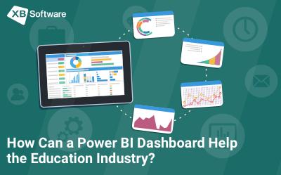bi dashboard in education industry