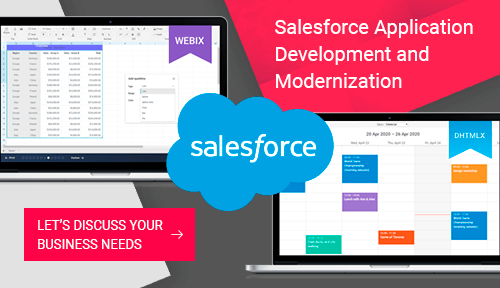 Salesforce software development and modernization