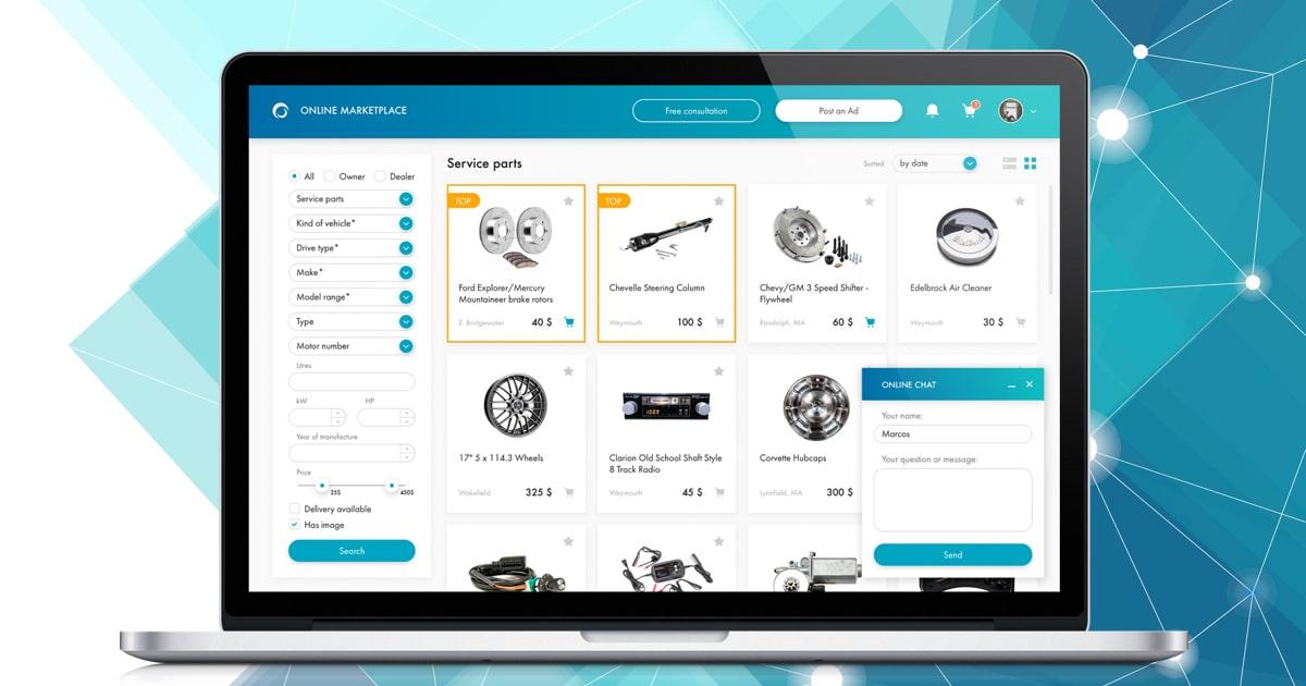 Marketplace single application
